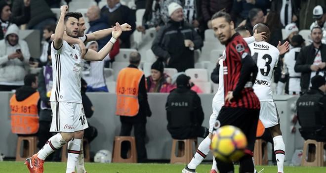 Talisca attı, Beşiktaş 3 puanı kaptı
