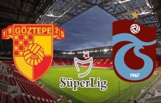 Göztepe - Trabzonspor maçı (CANLI İZLE)