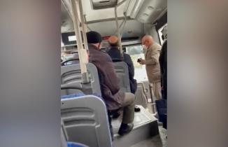 Kahramanmaraş'ta HES kodu tartışması! Şöför yaşlı çifti otobüsten indirdi